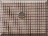 D3x1 mm. Neodym korong mágnes N38