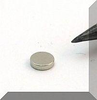D4x1 mm. Neodym korong mágnes N50