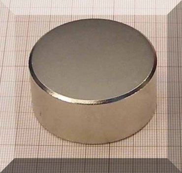 D55x25 N35 (65 kg.) Neodym korong mágnes