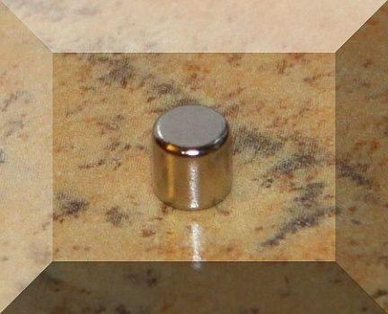 D5x5 mm. Neodym korong mágnes N38