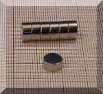 D8x4 mm. N35 NdFeB korong mágnes