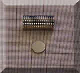 D9x1,5 mm. N35 NdFeB korong mágnes