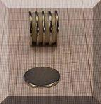 D20x1,5 mm. N38 NdFeB  korong mágnes