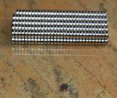 D5x2 mm. Neodym korong mágnes N38