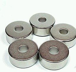 D20/d6x8 Gyűrűmágnes N35 Diamet