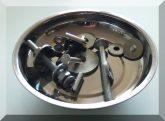 Mágneses alkatrésztál / mágnestál / csavartál D150