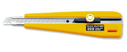 Olfa 300 Sniccer 9mm. Wheel-lock