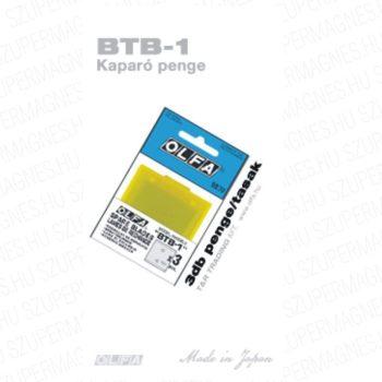 Olfa tartalék penge a BTC-1 kaparóhoz 3db. / csomag
