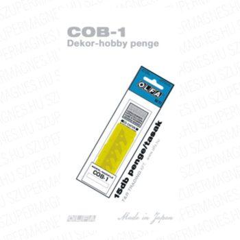 COB-1 / Körkivágó körzőhöz penge 15db. /csom.