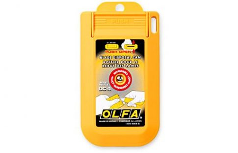 OLFA Biztonsági pengetörő és tároló