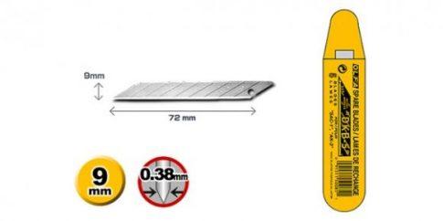 OLFA 9mm. Penge törhető 5db./csomag 30°-os DKB-5