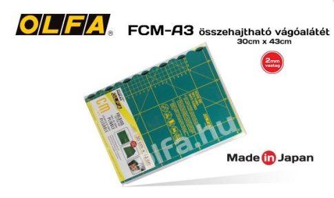 """Vágóalátét, 30x43x2 mm. vastag """"öngyógyuló"""" FCM-A3"""