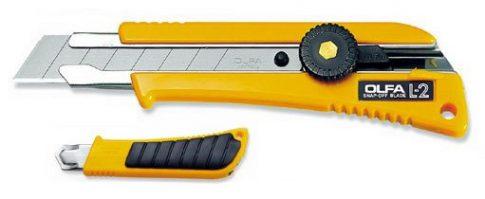 OLFA L-2 es ipari kés (18mm. Sniccer)