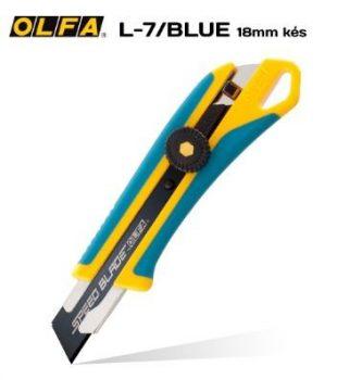 Olfa Sniccer 18mm. wheel-lock L7 KÉK limitált kiadás