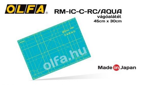 """Vágóalátét, 45x30 cm 1,5 mm. vastag """"öngyógyuló"""" RM-IC-C-RC Aqua"""