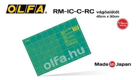 """Vágóalátét, 45x30 cm 1,5 mm. vastag """"öngyógyuló"""" RM-IC-C-RC"""