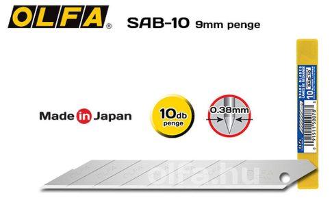 Olfa SAB-10 penge 10db./csomag