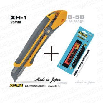 Olfa Sniccer 25mm. auto-lock XH1- HBB