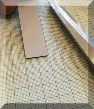 Öntapadós fémszalag 19 mm.széles,  öntapadós, habszívacsos