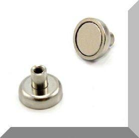 Neodym POT mágnes D12x12,5 mm.