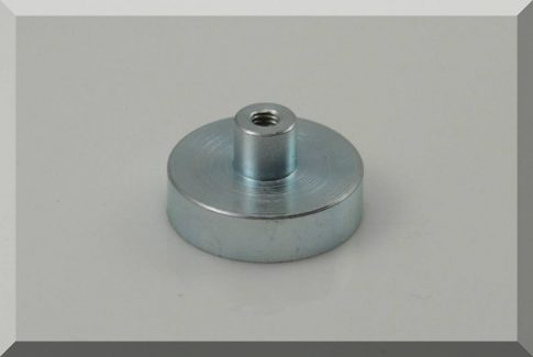 D25x7 -NdFeB betétes csapos POT mágnes