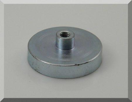 D40x8/15 mm. Neodym betétes Csapos POT mágnes