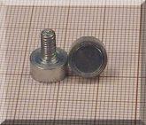 D10x4,5/12_5 Menetszáras POT mágnes M4