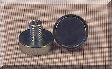 D16x4,5/12,5 mm. POT menetszáras mágnes M6