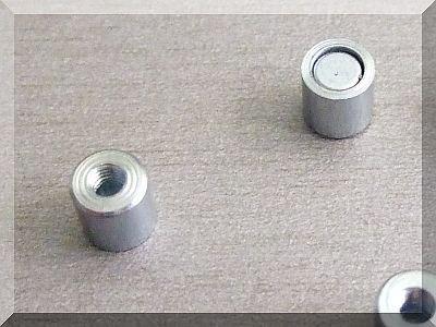 Neodym POT mágnes D6x6