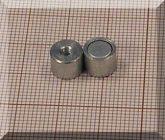 D8x6 mm. POT mágnes belső M3 menettel