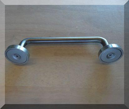 D32x7 POT Neodym betétes mágnesek fogantyúval