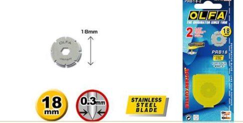 Olfa 18mm-es perforáló penge