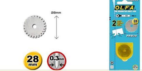 Olfa 28mm-es perforáló penge
