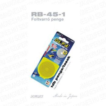 Olfa 45mm-es textilkés körpenge 1db./csom. (RB-45-1)
