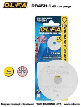 Olfa 45mm-es textilkés körpenge 1db./csom. (RB-45H-1)