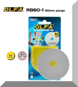 Olfa 60mm-es textilkés körpenge 1db./csom. (RB-60-1)