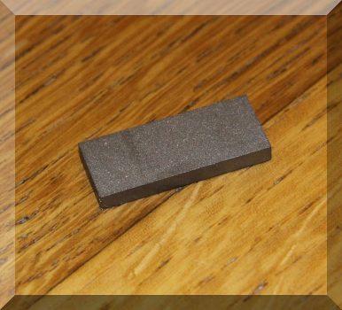 25x10x3 mm. SmCo mágnes 300°C