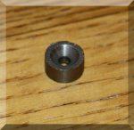 D10x5 mm. Sülly. Furatos SmCo mágnes 300°C