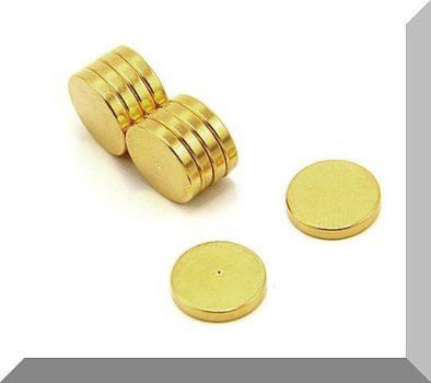 D12x2 Terápia NdFeB mágnes GOLD