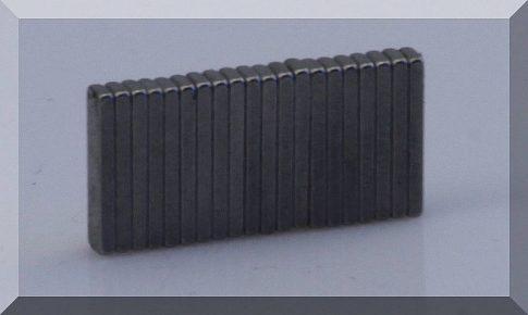 10x2,5x1 mm. téglatest mágnes N48H