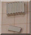 10x4x2mm. téglatest mágnes N38Sh