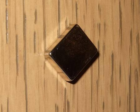 12x10x4 mm. N38 Neodym téglatest mágnes