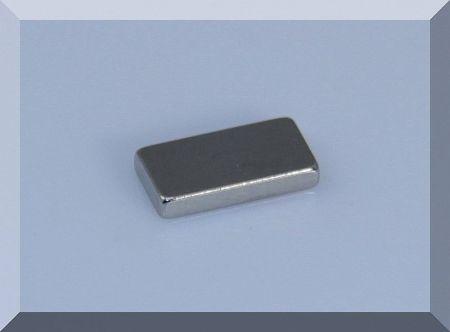 12x6x1,5 mm. N50 Neodym téglatestmágnes