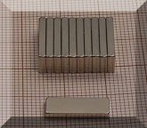 15x5,5x1,8 N38SH Neodym téglatest mágnes