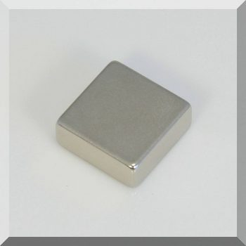 25x25x10 N38 Neodym téglatest mágnes