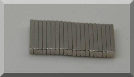 25x3,5x2 mm. N38SH téglatest mágnes
