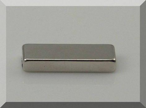 30x10x5 mm. N42 téglatest Neodym mágnes