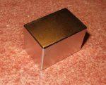Téglatest neodymium mágnes. 30x20x20mm. N35H