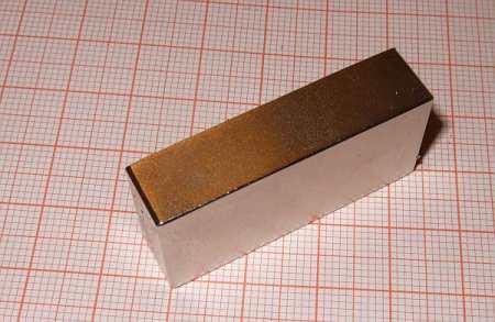 40x18x10mm N45 (25Kg.) Téglatest Neodym mágnes