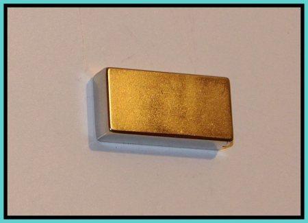 40x20x10 mm. Neodym téglatest mágnes N42